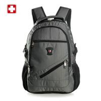 SWISSWIN瑞士十字韩版男士双肩包旅行背包商务电脑包休闲学生书包