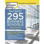 最~好的296所商学院2016版 英文原版 Best 296 Business Schools・