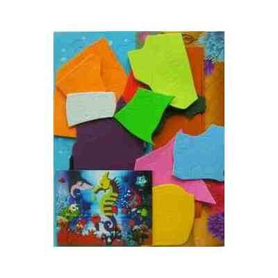 儿童益智玩具 立体拼图 手工拼图 海绵纸eva拼图玩具 ※ 鸭子妈妈
