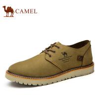 camel骆驼男鞋 春季新款英伦时尚潮鞋伐木鞋 磨砂皮休闲鞋男款