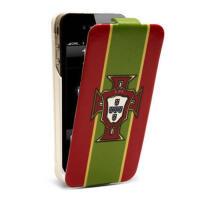 iFans苹果iphone4s背夹电池  足球移动电源 皮套手机壳   葡萄牙版