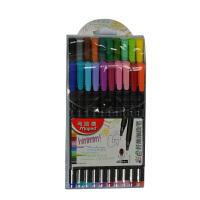 马培德Maped 20色彩色签字笔 纤维中性笔 水性勾线笔 749151