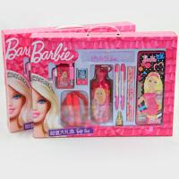 芭比公主文具大礼盒小学生文具礼盒套装儿童节生日礼物A315346