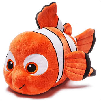 zoobies迪士尼玩具 小鱼尼莫毛绒玩具三合一dy102【毛绒玩具 抱枕靠枕
