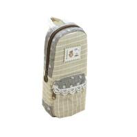 得力创意笔袋帆布多层大容量铅笔盒文具盒包男女中小学生韩国可爱