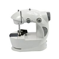 普润 迷你电动缝纫机 家用双速双线缝纫机 小型电动缝纫机 多功能锁边缝纫机