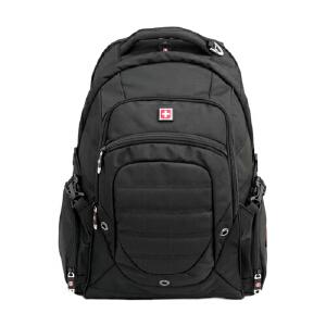【当当自营】 SWISSWIN瑞士十字 笔记本电脑背包商务休闲双肩包 男女背包大中学生书包 旅行包 SW9275I 15.6寸笔记本电脑包