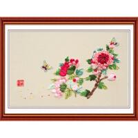 丝带绣  享受自然 新款 D-00020 花草系列温馨丝带绣十字绣