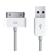 ikodoo爱酷多 苹果iphone4数据线 苹果4 iphone 4s数据线 usb充电器线 便携6铜芯iphone4数据线