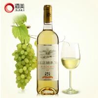 酒美网 法国波尔多原瓶进口红酒 爱丽丝AOP甜白葡萄酒750ml