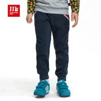 jjlkids季季乐童装男童裤子厚款加绒长裤中大童棉裤BDK43012