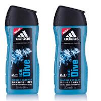 阿迪达斯(adidas)男士三合一洗发沐浴露(原装进口)冰点250ml