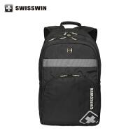 SWISSWIN瑞士军刀双肩包男女电脑背包大中学生书包旅行背包SW2001