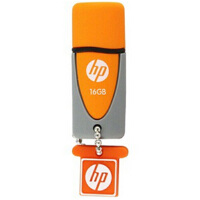 HP/惠普U盘v245o 16G u盘可爱创意情侣防水优盘 u盘16gb 闪存盘