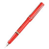 德国原装进口lamy凌美钢笔safari狩猎者系列钢笔墨水笔F笔尖   红色