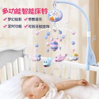 活石曼哈顿牙胶手摇铃磨牙球0-3-6-12月婴幼儿宝宝益智磨牙棒玩具