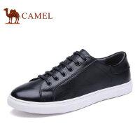 camel骆驼男鞋 新品时尚休闲潮流滑板鞋系带潮男鞋