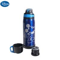 迪士尼米奇儿童双盖运动保温杯不锈钢水杯男女童喝水杯子HM3159