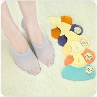 韩国创意浅口隐形袜 防滑糖果色船袜短袜女袜