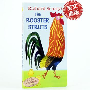 《快乐的公鸡 英文原版 Richard Scarry Is The R