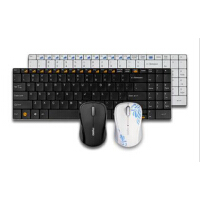雷柏 9060 无线鼠标键盘 套装