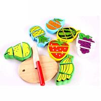 儿童手工动手玩具过家家 水果切切 益智 启智 木质 儿童 玩具