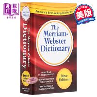 韦氏小红字词典 红色Merriam Webster Dictionary 英文原版