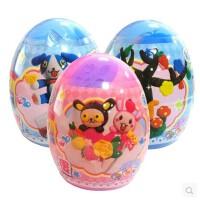 智高9211  魔法蛋轻质3D彩泥魔法粘土儿童益智玩具
