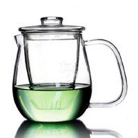 HEISOU 玻璃茶壶 耐高温过滤泡茶杯加热泡花茶壶茶具茶器 CF-34
