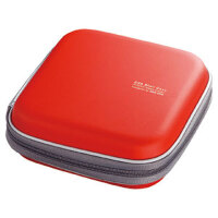 【品牌直供】日本SANWA CD盒 CD包 DVD包(36片装)硬壳 光盘盒 蝶片包 超强保护