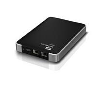 MAC 西数WDBALG5000ABK 500G 移动硬盘 USB+双火线800 便携式硬盘