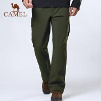 camel骆驼户外男款软壳裤 保暖软壳裤