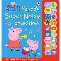 粉红猪小妹发音书【现货】英文原版童书 Peppa Pig: Peppa's Super Noisy Sound Book 小猪佩奇发音书 粉红猪小妹大明星系列