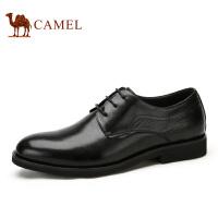 camel骆驼商务正装皮鞋 新款 男士商务系带皮鞋