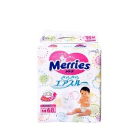 【当当海外购】花王妙而舒(Merries) 母婴 纸尿裤 M68 海外购