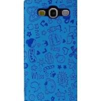 ikodoo爱酷多 三星Samsung i9300手机套 i9308手机壳 小可爱保护套 天蓝