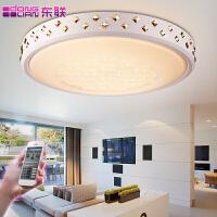 东联现代简约智能家居水晶灯led吸顶灯具圆形卧室灯客厅灯饰x143
