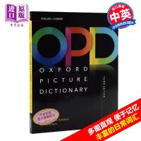 牛津图解词典字典辞典中英文原版Oxford Picture Dictionary儿童英文图解词典字典中英互译 通俗易懂 英语初学者