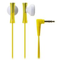 【全国大部分地区包邮哦!!】铁三角(Audio-technica) ATH-J100 YL 巧细小耳塞式耳机 时尚多彩 黄色