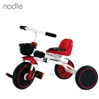 Nadle儿童脚踏车儿童三轮车可折叠无需安装宝宝婴幼儿三轮车自行车折叠免充气  可折叠式儿童三轮车,无需安装,折叠方便