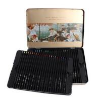 MARCO马可雷诺阿  3200�\木彩色铅笔24/36/48色油性彩铅笔铁盒