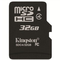 【送读卡器】金士顿 TF 32G MicroSD平板 手机内存卡 高速class4