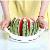 韩国不锈钢多功能水果切割器 切西瓜神器哈密瓜切片器