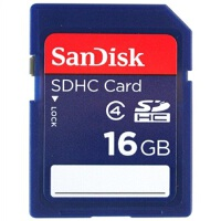 SanDisk  闪迪  16G SD HC 存储卡  Class4 相机内存卡,储存卡 16gb