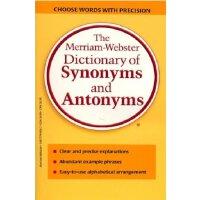 原版工具书 韦氏同反义词典 The Merriam-Webster Dictionary of Synonyms and Antonyms