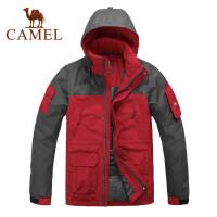 CAMEL骆驼 男款羽绒服 防风保暖户外冲锋衣 秋冬新品男装