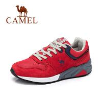 【专区满200减100】骆驼女鞋  运动鞋 时尚舒适休闲单鞋 网布拼接跑步鞋