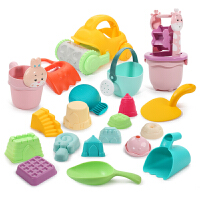 【满200-100】儿童沙滩玩具车套装大号铲子桶玩沙工具沙漏男女孩婴儿玩具