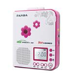 【当当自营】 熊猫(PANDA) F-362 800秒高保真复读机 磁带录音机(红色)
