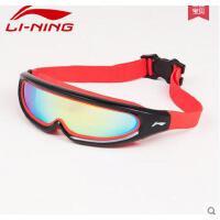 泳镜 专业大框大视野浮潜游泳眼镜七彩电镀镜片高清防水防雾 可礼品卡支付